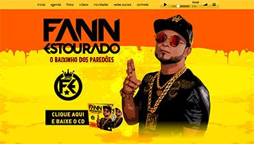 Fann Estourado 2016 - Atualização do layout (CD 2016/2017) do site do cantor Fann Estourado- Brumado/BA.