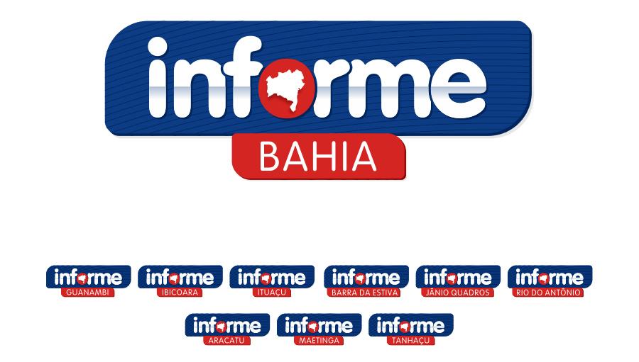 Informe Bahia - Criação da marca. Brumado/BA