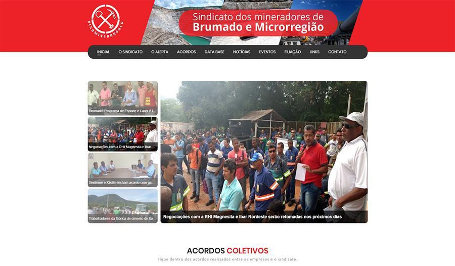 Sindmineradores - Sindicato dos mineradores de Brumado e microrregião