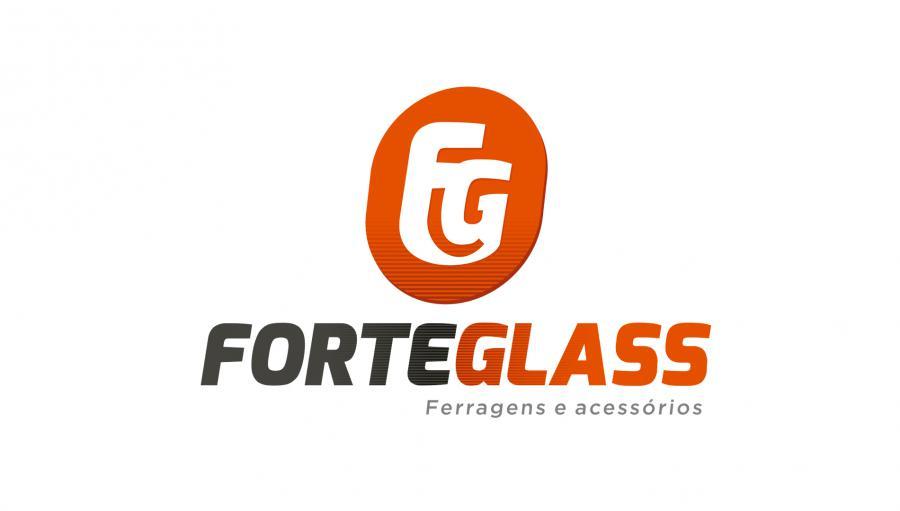 Forte Glass - Criação da marca para a Forte Glass. Brumado/BA