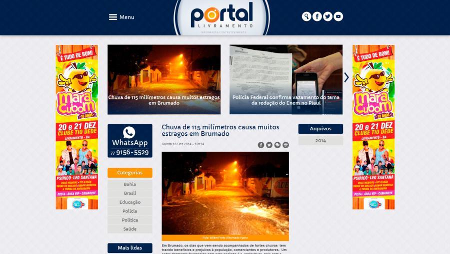 Portal Livramento